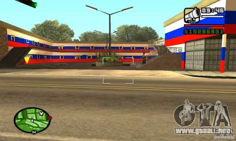 Hotel ruso para GTA San Andreas tercera pantalla