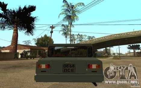 Dkns la Inválido para GTA San Andreas vista posterior izquierda