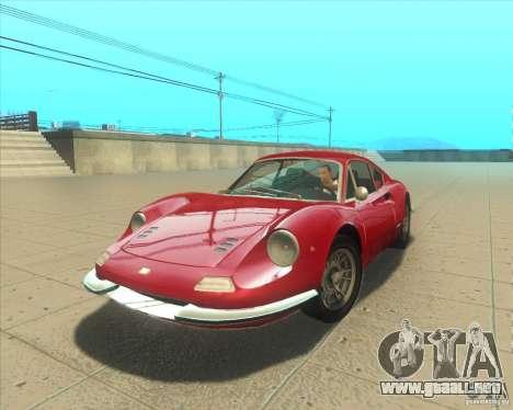 Ferrari Dino 246 GT para GTA San Andreas