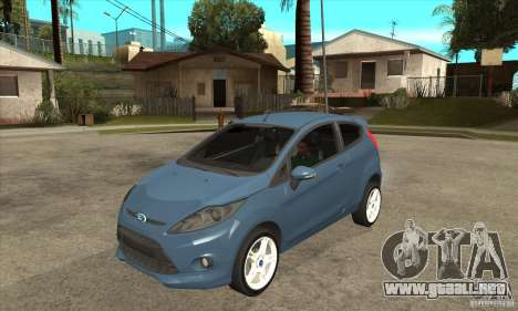 Ford Fiesta Zetec S 2009 para GTA San Andreas