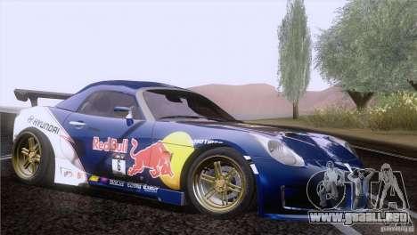 Pontiac Solstice Redbull para la visión correcta GTA San Andreas