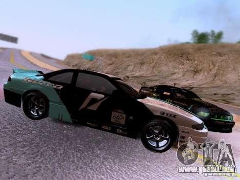 Nissan Silvia S14 Matt Powers v4 2012 para visión interna GTA San Andreas