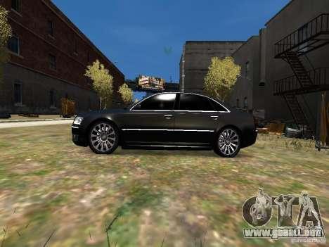 Audi A8L W12 para GTA 4 left