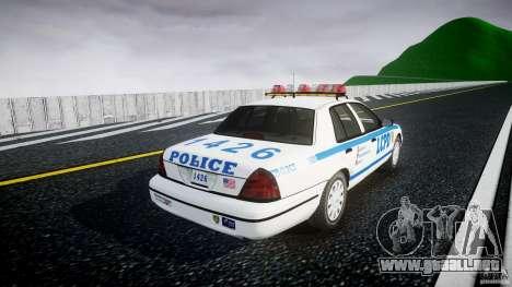 Ford Crown Victoria Police Department 2008 LCPD para GTA 4 vista interior