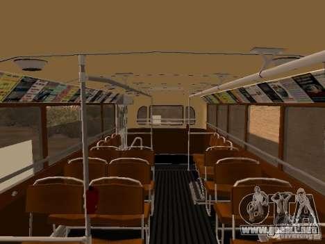 Ikarus 60 para visión interna GTA San Andreas
