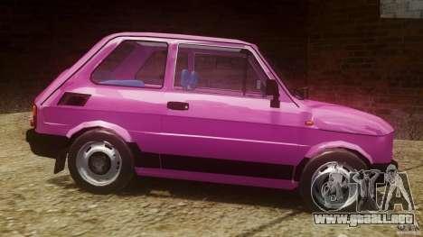 Fiat 126p FL Polski 1994 Wheels 1 para GTA 4 left