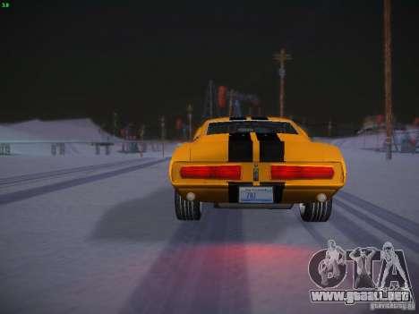 Shelby GT500 Eleanor para vista lateral GTA San Andreas