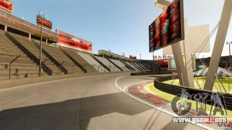 Hazyview Eight Drift Map para GTA 4 tercera pantalla