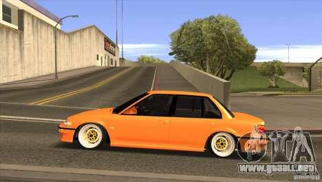 Honda Civic EF9 Sedan para GTA San Andreas left
