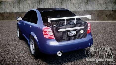 Chevrolet Lacetti WTCC Street Tun [Beta] para GTA 4 Vista posterior izquierda