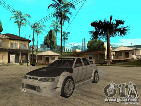 VAZ 2110 WRC 2.0 para GTA San Andreas