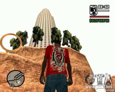 La torre inclinada de Pisa para GTA San Andreas