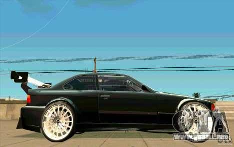 NFS:MW Wheel Pack para GTA San Andreas sucesivamente de pantalla