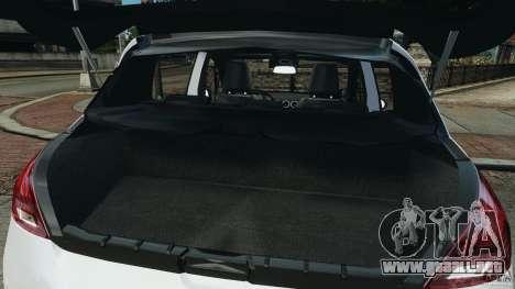 Peugeot 308 GTi 2011 Police v1.1 para GTA 4 interior