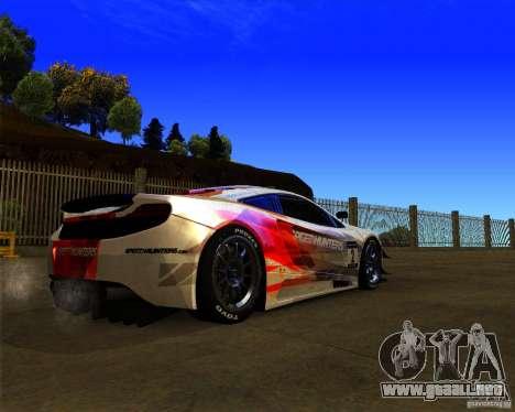 McLaren MP4 - SpeedHunters Edition para la visión correcta GTA San Andreas