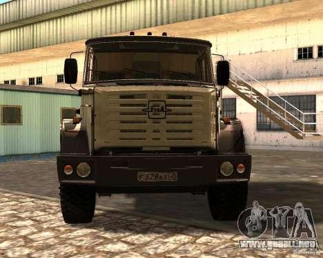ZIL 5417 para la visión correcta GTA San Andreas