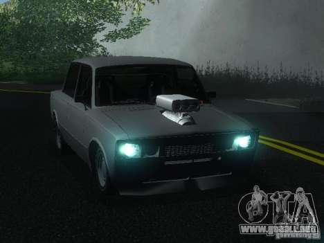 VAZ 2106 Drag Racing para GTA San Andreas left
