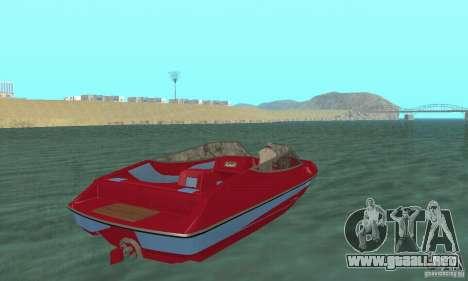Speedboat para GTA San Andreas left
