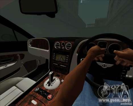 Bentley Continental GT V1.0 para la vista superior GTA San Andreas