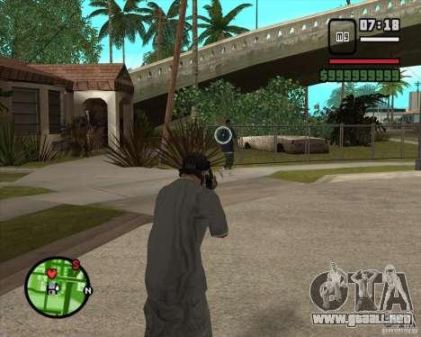 GTA IV Target v.1.0 para GTA San Andreas segunda pantalla