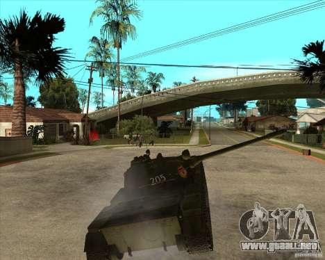 T-55 para visión interna GTA San Andreas