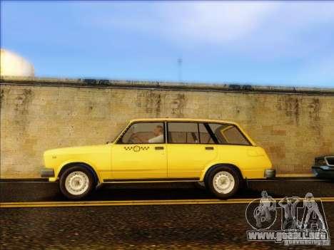 VAZ 2104 Taxi para GTA San Andreas left