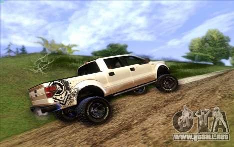 Ford F-150 Carryer Metal Mulisha para GTA San Andreas left