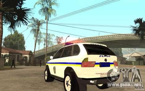 BMW X 5 DAÌ para GTA San Andreas