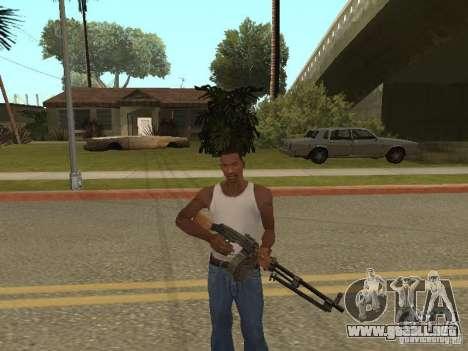 Ametralladora ligera Dâgterëva para GTA San Andreas sucesivamente de pantalla