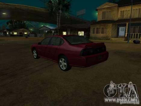 Chevrolet Impala 2003 para GTA San Andreas left