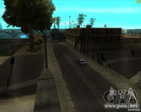 ENBSeries buena vieja para GTA San Andreas tercera pantalla