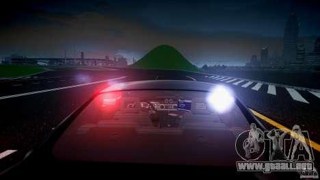 Saleen S281 Extreme Unmarked Police Car - v1.2 para GTA 4 ruedas