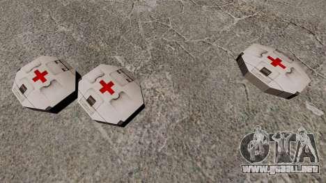 Nueva caja de caché Kit Halo para GTA 4 tercera pantalla