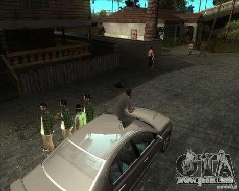 ENBSeries buena vieja para GTA San Andreas