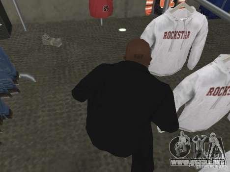 Nuevas texturas de dinero para GTA San Andreas segunda pantalla
