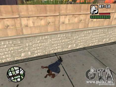 PARKoUR para GTA San Andreas novena de pantalla