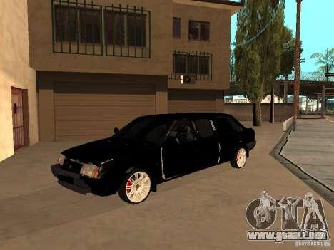 VAZ 21099 Limousine para vista lateral GTA San Andreas