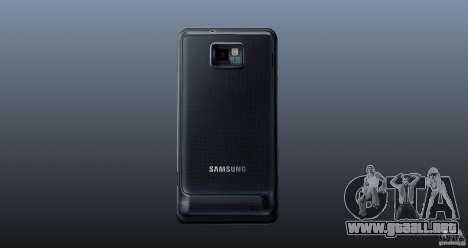 Samsung Galaxy S2 para GTA 4 tercera pantalla
