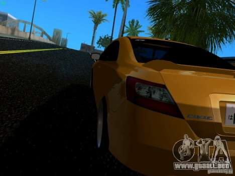 Honda Civic Si JDM para GTA San Andreas left