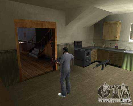 Rifle AS 50 para GTA San Andreas segunda pantalla
