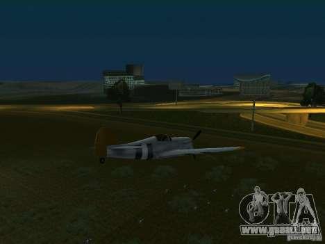 Bombas para aviones para GTA San Andreas tercera pantalla