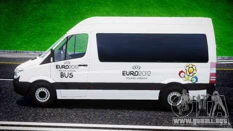 Mercedes-Benz Sprinter Euro 2012 para GTA 4 left