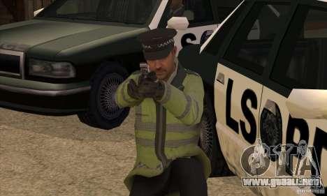 Una nueva policía para GTA San Andreas