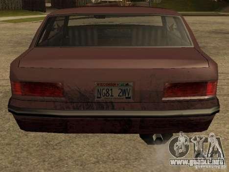 Daños realista para GTA San Andreas sucesivamente de pantalla