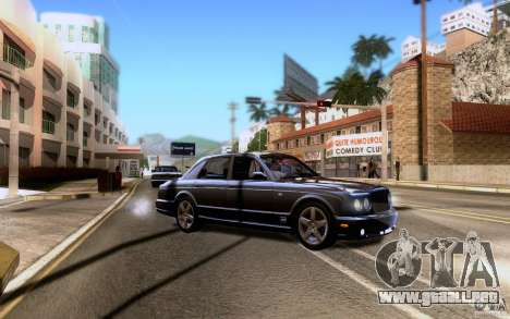 Bentley Arnage para las ruedas de GTA San Andreas