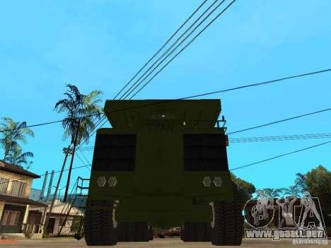 Belaz para la visión correcta GTA San Andreas