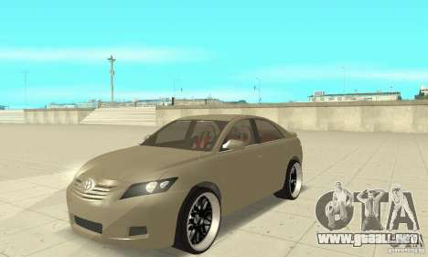 Toyota Camry Tuning 2010 para GTA San Andreas
