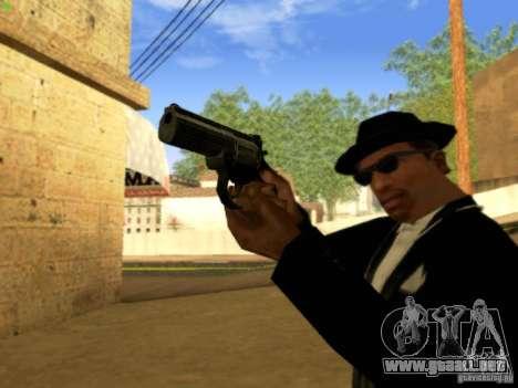 MP 412 para GTA San Andreas quinta pantalla