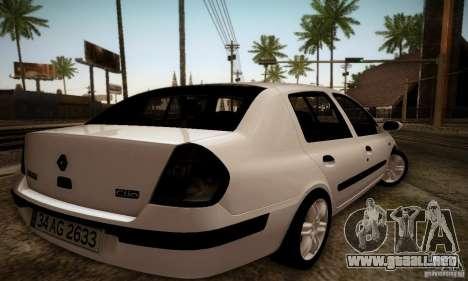 Renault Clio Sedan para GTA San Andreas left