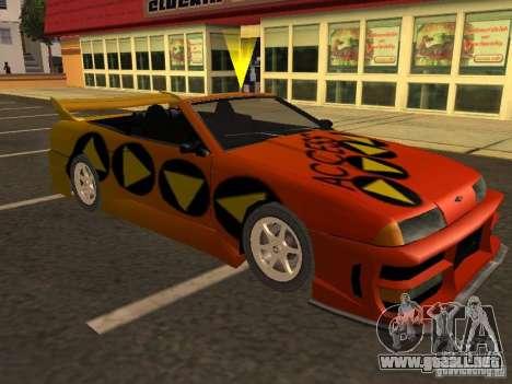 Elegía de tapas convertibles para las ruedas de GTA San Andreas